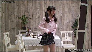 Japanese Petite Shuri Atomi Change Uniforms