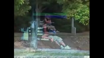 sex in a park   Video Make Love