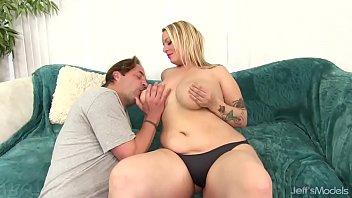 Big tittied blonde Sinful Samia sodomized Thumb