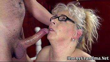 Big assed granny railed