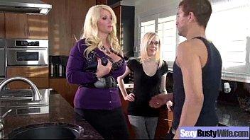 Hardcore Sex With Big Tits Hot Milf (alura jenson) clip-02