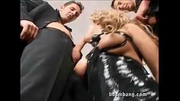 BDSM sex orgy
