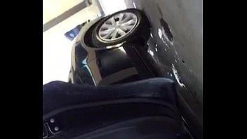 Milf spandex car wash