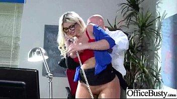 Hard Intercorse With (julie cash) Big Round Tits Slut Office Girl clip-20