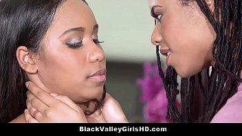 Bratty Ebony Teen Lesbian Lovers Jenna Foxx &amp_ Kira Noir Get It On