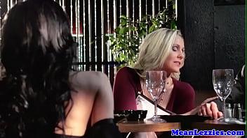 Lesbian milfs seducing babe milf girs