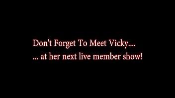 HUGE Cumshot on Vicky Vette'_s Face - Santa Drops a Load!