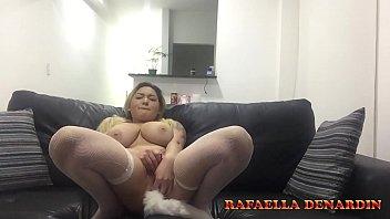 Cumming with buttplug plug