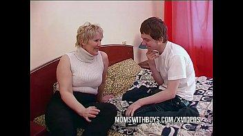 Русские сочные мамочки с сыном