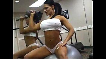 Big boobs fitness porn