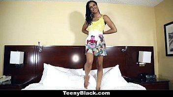 TeenyBlack - Kira Noir'_s First Porn Casting