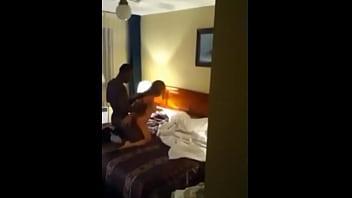 Escort fucking Black guy at hotel!!