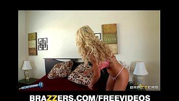 Busty big-boobed blonde MILF Puma Swede is secretly a webcam girl