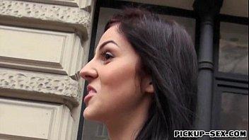 Czech girl Meg Magic nailed with stranger for money