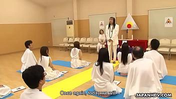 image Glamorous japanese hottie religiously worships cocks like th
