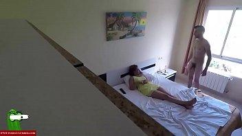 Voyeur sex of a young couple at home CRI082 spanking pov
