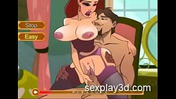 Gioco di sesso in 3D Hentai Scopando la regina delle troie del regno