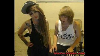 Emo Couple Webcam Blowjob NightlyCams.com