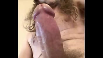 video3 para AMA leonesa gringo slave slut stroking my hard american cock masturbating gringo