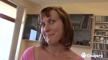 Anita Imre Has Her Mature Pussy Stuffed Full Of Dick