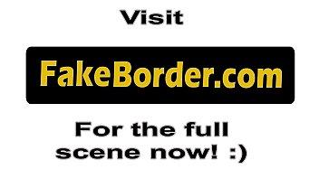 Redhead immigra nt gives deep blowjob before r lowjob before rides border agent