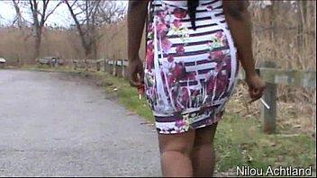 Smoking White &amp_ Pink Dress - NilouAchtland