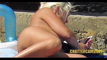 Nudist Beach MILFS Close-up Compilation