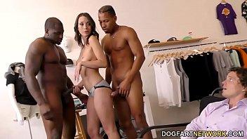 Black Cock Slut Jade Nile Motivates Her Employee
