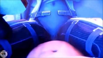 Mass Effect - Liara T'_soni and Shepard Romance - Compilation