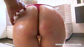 Busty brunette fucking a BIG dick