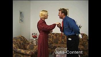 Mature blonde housekeeper fucked