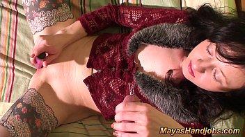 3 cumshots while Maya orgasm