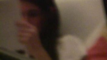 Perky teen spied through window 1 of 3