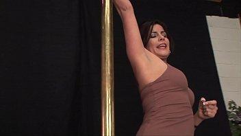 Latin Slut Michele Avante Strips &amp_ Gets Her Holes Filled