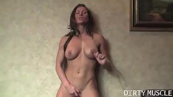 Fit Pornstar Ariel X String-Rubs Her Pussy