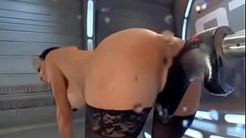 squirting on fucking machine