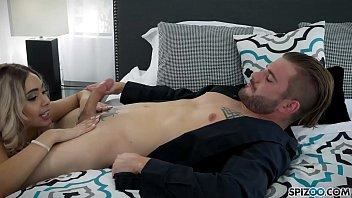Spizoo - Big booty Aaliyah Hadid is fucked by a huge cock, big boobs