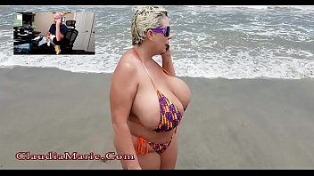 Claudia Marie Big Tit Beach Anal Sex