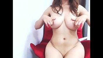 Sexy big boobs girlfriend on cam