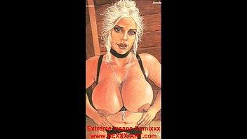 Торчащие соски женской груди онлайн