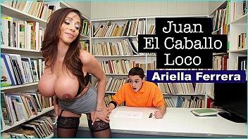 BANGBROS - MILF Teacher Ariella Ferrera Helps Young Juan El Caballo Loco Pass His Class Thumb