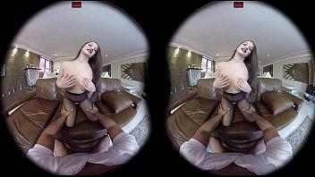 VirtualPornDesire - Angelina's Sexy Stockings 180 VR 60 FPS