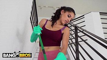 BANGBROS - Skinny Latin Maid Gabriela Lopez Fucks Her Client Derrick Ferrari