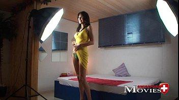 Eva sexy lady fucked in porn casting in Z&uuml_rich