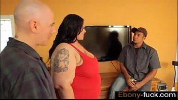 SSBBW Anastasia Fucks Hubbys Friend while he is  - ebony-fuck.com