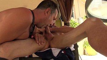 Horny stud sucking and fucking an ebony dudes cock