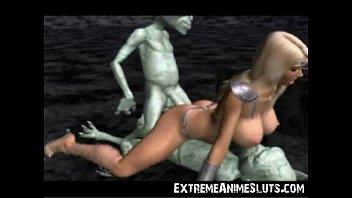 Порно аниме 3д монстры жестко трахают принцессу