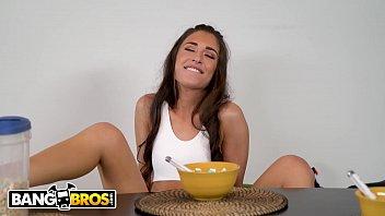 BANGBROS - Tony Rubino Eats Cameron Canela'_s Delicious Pussy For Breakfast