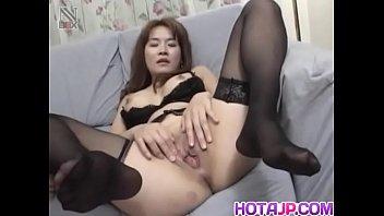 Curvy ass Mako Kamizaki tries cock down the butt hole - More at hotajp com