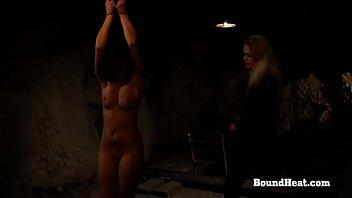 Betrayed Cargo: Whip Her Young Body humiliation domination lesbian-bondage
